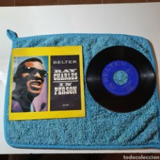 Discos de vinilo: MS-1. RAY CHARLES IN PERSON - WHAT' I SAY + 2 TEMAS - BELTER 50.383 ESPAÑA 1960.. Lote 291566743