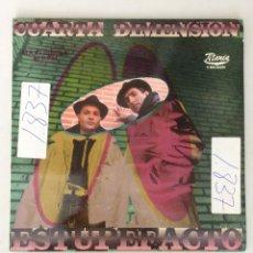Discos de vinilo: CUARTA DIMENSIÓN. ESTUPEFACTO.. Lote 291575948