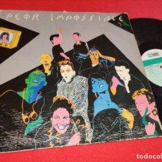 Discos de vinilo: PEOR IMPOSIBLE PELIGRO/ANA NO TIENE HUEVOS +2 MLP MX 12'' 1984 TWINS MOVIDA POP LEER ESTADO. Lote 291592748