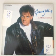 Discos de vinilo: GERARD JOLING. NO MORE BOLEROS. Lote 291597948
