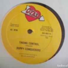 Discos de vinilo: MX. DUPPY CONQUERORS - TAKING CONTROL. Lote 291893083