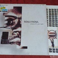 Discos de vinilo: SOUL II SOUL JUST RIGHT LP. Lote 291904883