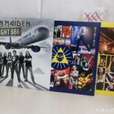Dischi in vinile: IRON MAIDEN --FLIGHT 666-- AÑO 2017 --2LP--MADE IN THE UE---PARLOPHONE---. Lote 291981783