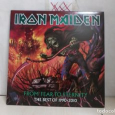 Dischi in vinile: IRON MAIDEN FROM FEAR TO ETERNITY-THE BREST OF 1990-2010-3LP- PICTURE -AÑO 2011-MADE IN THE E.U.-. Lote 291987543