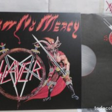 Discos de vinil: SLAYER--SHOW NO MERCY-METAL BLADE RECORDS-- AÑO 2015--GERMANY-MANUFACTURED IN THE EU-INSERTO-. Lote 291997458