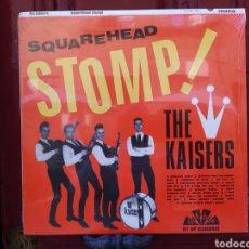 Discos de vinilo: THE KAISERS–SQUAREHEAD STOMP!. LP VINILO NUEVO PRECINTADO. Lote 292003123