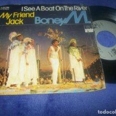 Discos de vinilo: BONEY M. - MY FRIEND JACK + I SEE A BOAT ON THE RIVER - SINGLE DE ARIOLA 1980 - ED. ESPAÑA. Lote 291455253