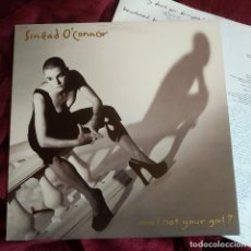 Discos de vinilo: SINÉAD O'CONNOR – AM I NOT YOUR GIRL? , ESPAÑA 1992, ENCARTE (EX_EX). Lote 292039333