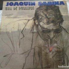 Discos de vinilo: JOAQUÍN SABINA - UNA DE ROMANOS. Lote 292063773
