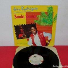 Discos de vinilo: JAIR RODRIGUES - SAMBA SAMBAO - MAXI SINGLE - ARIOLA 1984 SPAIN F-600954. Lote 292080638