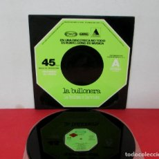 Discos de vinilo: LA BULLONERA - LA BOLSA O LA VIDA - MAXI SINGLE - MOVIEPLAY / GONG 1977 SPAIN 01.0335/5 - PROMO. Lote 292081643