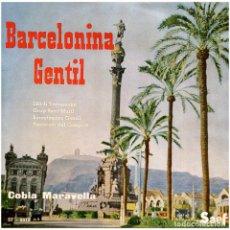 Discos de vinilo: COBLA MARAVELLA - BARCELONINA GENTIL - EP SPAIN 1959 - SAEF. Lote 292090423