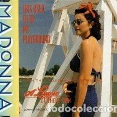 Discos de vinilo: MADONNA - THIS USED TO BE MY PLAYGROUND ..MAXISINGLE DE 1992 - SIRE-WARNER - MUY RARO .U.S.A. Lote 292097423