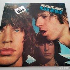 Discos de vinilo: VINILO LP DE THE ROLLING STONES. BLACK AND BLUE. 1976.. Lote 292108588