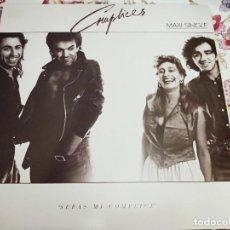 "Discos de vinilo: CÓMPLICES - SERÁS MI CÓMPLICE (12"")1987. SELLO:RCA CAT. N.º: PT-41520. NUEVO. MINT / NEAR MINT. Lote 292114113"