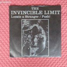 Discos de vinilo: THE INVINCIBLE LIMIT - LOCATE A STRANGER LAST CHANCE RECORDS MADE IN GERMANY. Lote 292151078
