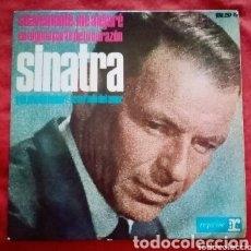 """Discos de vinilo: 1964 ANTIGUO VINILO 7""""45 RPM, EP FRANK SINATRA SUAVEMENTE ME ALEJARÉ, Y DE PRONTO ¡AMOR!,.... Lote 292155223"""