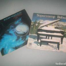 Dischi in vinile: LOTE DE 2 SINGLES SUPERTRAMP - BABAJ + ROGER HODGSON - HAD A DREAM ESTE ULTIMO PROMOCIONAL. Lote 292158163