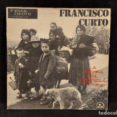 Discos de vinilo: FRANCISCO CURTO / LA GUERRA CIVIL ESPAÑOLA / LP-GATEFOLD-LE CHANT DU MONDE-1974 / MBC. ***/***. Lote 292162003