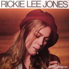 Discos de vinil: RICKIE LEE JONES - RICKIE LEE JONES - WARNER BROS. RECORDS BSK 3296 - 1979 - EDICIÓN USA. Lote 292174108