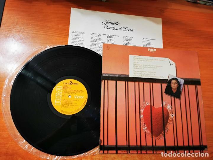 Discos de vinilo: JEANETTE Corazon de poeta LP VINILO DEL AÑO 1981 ENCARTE ESPAÑA MANUEL ALEJANDRO CONTIENE 10 TEMAS - Foto 2 - 288539793