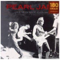 Discos de vinilo: PEARL JAM * LP VINILO COLOR NARANJA 180G * LIVE AT THE FOX THEATRE, ATLANTA 1994 * PRECINTADO!!. Lote 292235828