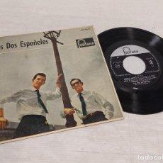 Discos de vinilo: LOS DOS ESPAÑOLES / ROSITA + 3 / EP - FONTANA-1961 / MBC. ***/***. Lote 292237733