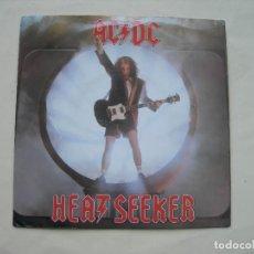 Discos de vinil: HEATSEEKER - GO ZONE / AC - DC / SINGLE VINILO. Lote 292239718