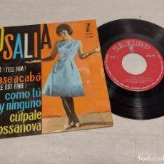 Discos de vinilo: ROSALIA / DILE + 3 / EP - ZAFIRO-1963 / MBC. ***/***. Lote 292240248