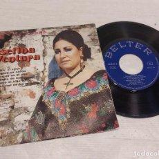 Discos de vinilo: JOSEFINA VENTURA - RONDALLA BRETÓN / JOTAS ARAGONESAS / EP - BELTER-1963 / MBC. ***/***. Lote 292241308