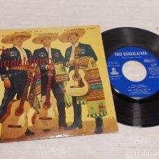 Discos de vinilo: TRIO GUADALAJARA / PACO PECO + 3 / EP - ODEON-1962 / MBC. ***/***. Lote 292243203