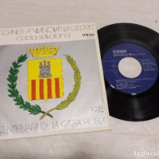 Discos de vinilo: COBLA SELVATANA / SARDANES A VILANOVA I LA GELTRÚ / EP - EDIGSA-1974 / MBC. ***/***. Lote 292246213