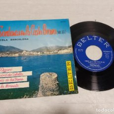 Discos de vinilo: SARDANAS EN LA COSTA BRAVA. VOL.III / EP - BELTER-1961 / MBC. ***/***. Lote 292246503