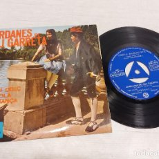 Discos de vinilo: COBLA BARCELONA / SARDANES DE JULI GARRETA / EP - COLUMBIA-1965 / MBC. ***/***. Lote 292247798