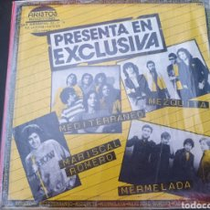 Discos de vinilo: CHAPA DISCOS EP MEZQUITA, MERMELADA.ETC. Lote 292250748