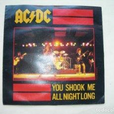 Discos de vinil: YOU SHOOK ME ALL NIGHT LONG - HAVE A DRINK ONME / AC - DC / SINGLE / VINILO. Lote 292252558