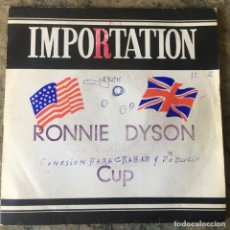 Discos de vinilo: RONNIE DYSON - LADY IN RED / CUP (RUNNETH OVER) . SINGLE . 1975 USA. Lote 292288963