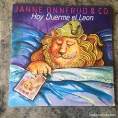 Discos de vinilo: JANNE ÖNNERUD & CO - HOY DUERME EL LEON . SINGLE . 1979 CBS. Lote 292289628