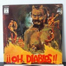 Discos de vinilo: PROMOCIONAL!! LOS DIABLOS. EMI. 1970. PROD. POR TONY RONALD. ESP.. Lote 292304828