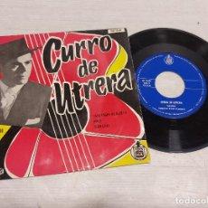 Discos de vinilo: CURRO DE UTRERA VOL. II / FANDANGOS DE HUELVA / EP - HISPAVOX-1959 / MBC. ***/***. Lote 292311993