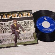 Discos de vinilo: RAPHAEL / ERES TU + 3 / EP - HISPAVOX-1969 / MBC. ***/***. Lote 292314168