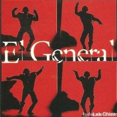 Discos de vinilo: EL GENERAL– LAS CHICAS - MAXI-SINGLE SPAIN 1994. Lote 292334393