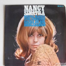 Discos de vinilo: NANCY SINATRA. BEBIDA MÁGICA. AÑOS 60.. Lote 292335338