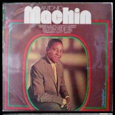 Discos de vinilo: D. LPS. ANTONIO MACHIN. DE LOS 50 Y 80.. Lote 292339203