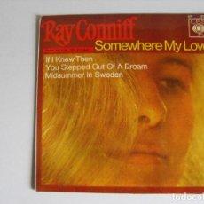 Discos de vinilo: RAY CONNIFF. TEMA DE LARA. AÑOS 60.. Lote 292347243