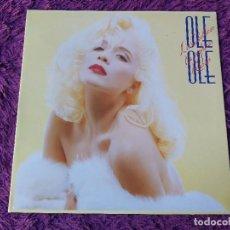 Discos de vinil: OLE OLE – LOS CABALLEROS LAS PREFIEREN RUBIAS, VINILO, LP, 1988 SPAIN GATEFOLD 560 40 2107 1. Lote 292353538
