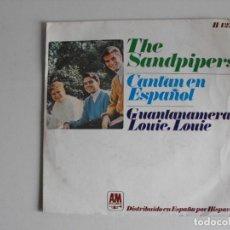 Discos de vinilo: THE SANDPIPERS. GUANTANAMERA. AÑOS 60.. Lote 292353783