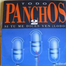 Discos de vinil: LP - LOS PANCHOS - SI TU ME DICES VEN (DOBLE DISCO, SPAIN, EPIC RECORDS 1992). Lote 292362688