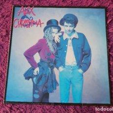 Discos de vinil: ALEX & CHRISTINA, VINILO LP 1988 SPAIN 242395-1. Lote 292368098