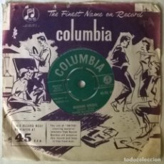 Discos de vinilo: VICTOR SILVESTER & HIS MADISON RHYTHM. MADISON SPECIAL/ THE MADISON LINE. COLUMBIA, UK 1960 SINGLE. Lote 292402418